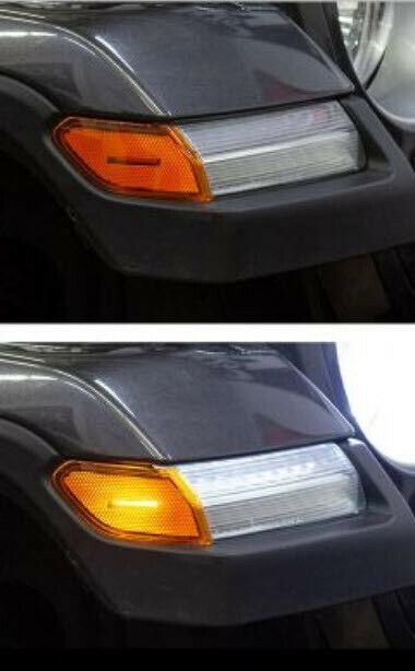 2018-2019 Jeep Wrangler & 2020 Gladiator LED Amber Lens Turn Signals