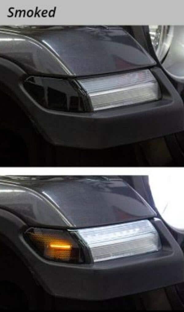 2018-2019 Jeep Wrangler & 2020 Gladiator LED Smoked Lens Turn Signals