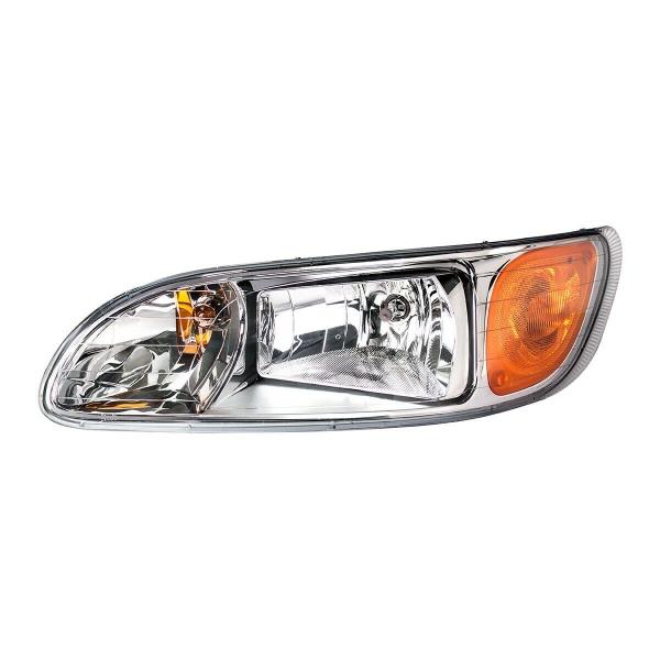 Pair of Headlights for Peterbilt 382, 384, 386, 387 (Driver & Passenger Set)