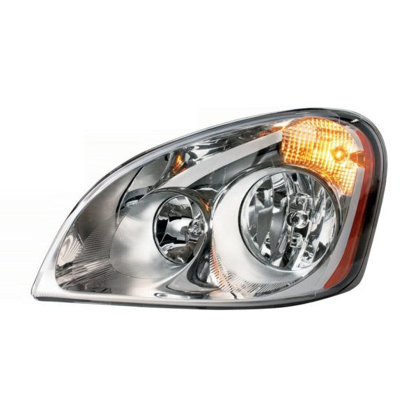 Pair of Headlights for 2008+ Freightliner Cascadia - Plug & Play