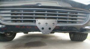 Sto N Sho License Plate Bracket for 1993-2003 Ford Lightning (Removable / Metal)