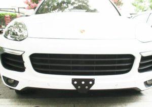 Sto N Sho License Plate Bracket for 2017-2018 Porsche Cayenne / Cayenne S