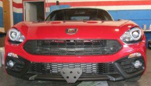 Sto N Sho License Plate Bracket for 2017-19 Fiat 124 Spider Abarth