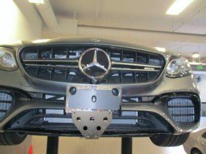 Sto N Sho License Plate Bracket for 2019 Mercedes AMG E63 S Sedan (Removable)