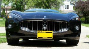 Sto N Sho License Plate Bracket For 2009-2011 Maserati GranTurismo (Removable)