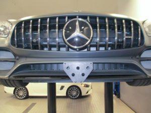 Sto N Sho License Plate Bracket for 2019 Mercedes SL450/SL550 Roadster