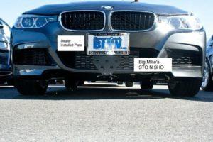 Sto N Sho License Plate Bracket for 2012-2016 BMW 235i/335i/435i M Sport