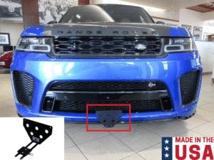 Sto N Sho License Plate Bracket for 2018-2020 Range Rover Sport SVR - Removable