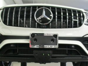Sto N Sho License Plate Bracket for 2019 Mercedes AMG GLC 63 S Coupe/SUV