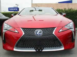 Sto N Sho License Plate Bracket for 2018-2019 Lexus LC500 (Removable / Metal)