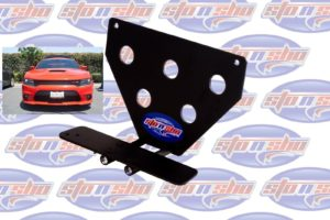 Sto N Sho License Plate Bracket for 2015-2018 Dodge Charger Hellcat (Removable)