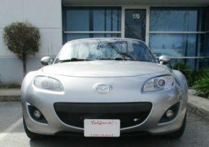 Sto N Sho License Plate Bracket for 2010-2012 Mazda Miata MX-5 Sport Option