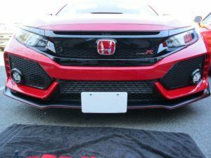 Sto N Sho License Plate Bracket for 2017-19 Honda Civic Type R (Removable)