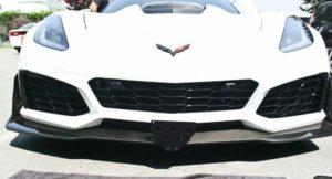 Sto N Sho License Plate Bracket for 2019 Corvette ZR-1 (Removable / Metal)