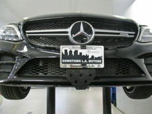 Sto N Sho License Plate Bracket for 2019 Mercedes AMG C43 (Removable / Metal)