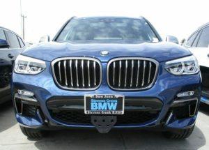 Sto N Sho License Plate Bracket for 2018-2019 BMW X3 M40i (Removable, Metal)