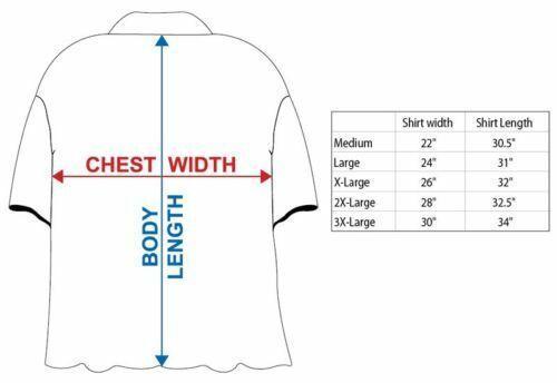 Mechanic Style Button Up Shirt W/ Mopar Red, White & Blue Logo / Emblem