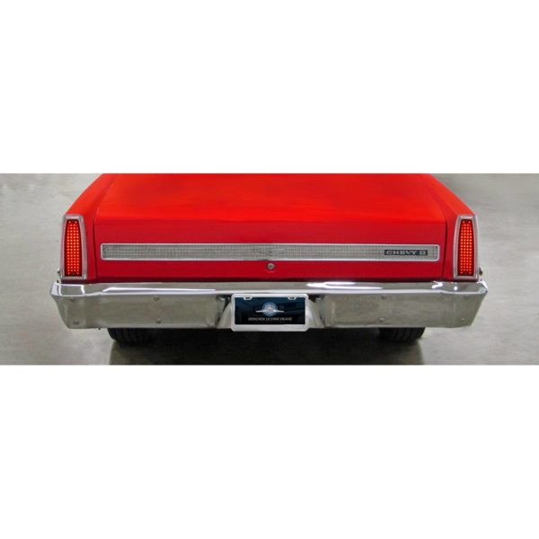 One-Piece Style LED Tail Light For 1966-67 Chevy II & Nova