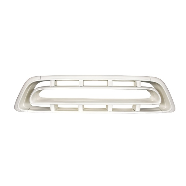 White Powder Coated Grille For 1957 Chevy Truck