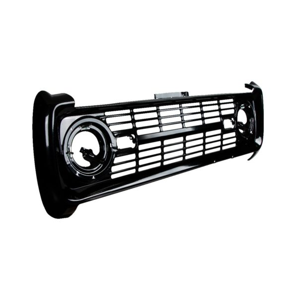 Black Grille Without Lettering For 1966-68 Ford Bronco