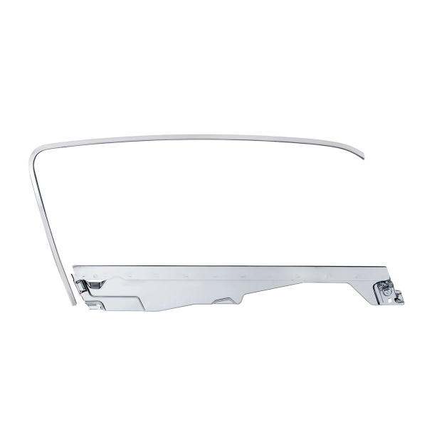 Door Glass Frame and Channel Kit For 1964.5-66 Ford Mustang Fastback - R/H