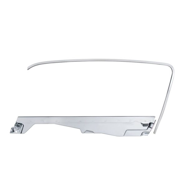 Door Glass Frame and Channel Kit For 1964.5-66 Ford Mustang Fastback - L/H