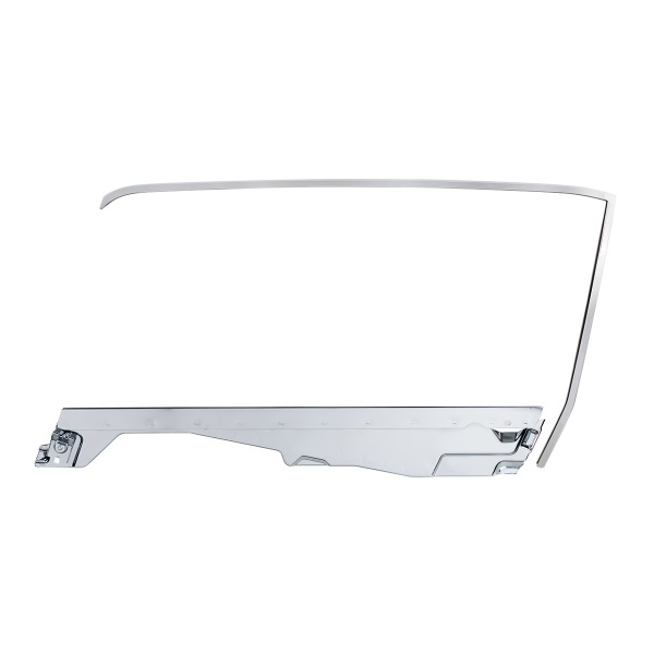 Door Glass Frame and Channel Kit For 1964.5-66 Ford Mustang Convertible - L/H