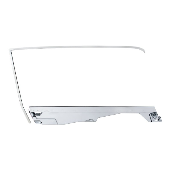 Door Glass Frame and Channel Kit For 1964.5-66 Ford Mustang Coupe - R/H