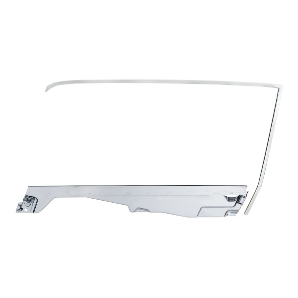 Door Glass Frame and Channel Kit For 1964.5-66 Ford Mustang Coupe - L/H