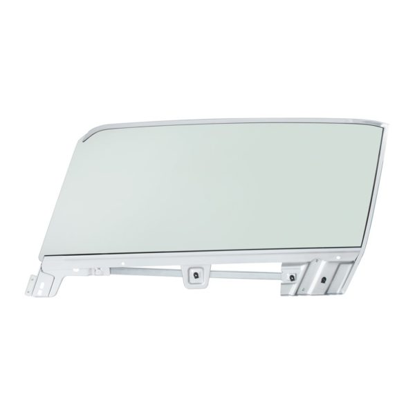 Complete Tinted Door Glass Assembly For 1967-68 Mustang Convertible - L/H
