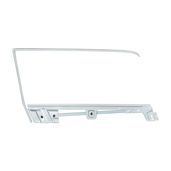 Door Glass Frame Kit For 1967-68 Ford Mustang Coupe - R/H