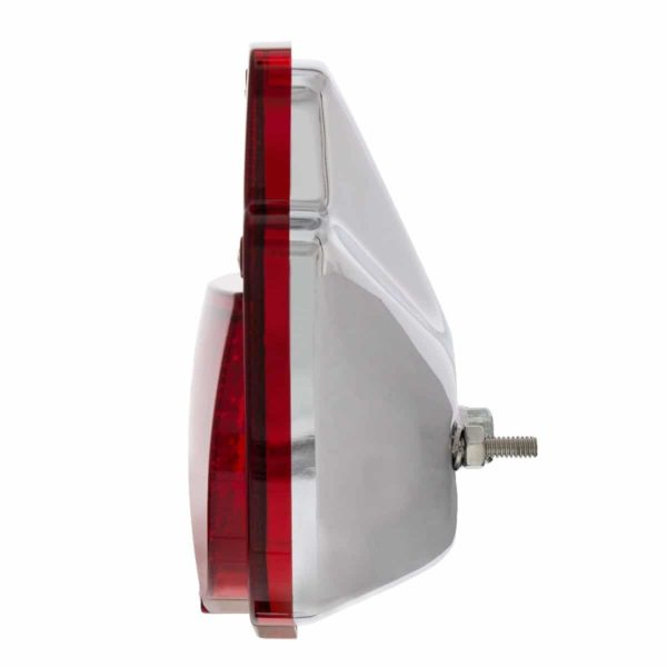 38 LED Sequential Tail Light w/Chrome Housing For 1953-56 Ford Truck - R/H
