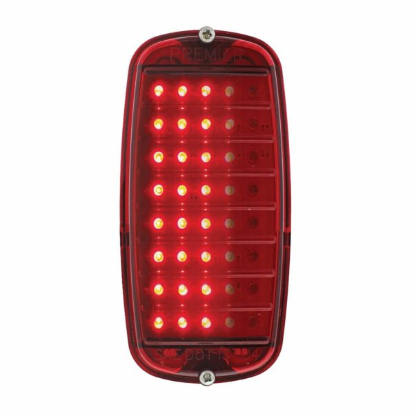 40 LED Sequential Tail Light Assembly For 1960-66 Chevy & GMC Fleetside Truck