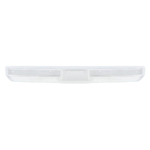 Chrome Front Bumper Without Impact Strip Holes For 1973-80 Chevy & GMC Truck