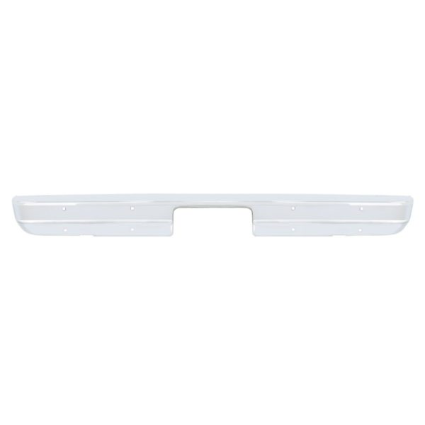 Chrome Rear Bumper Without Impact Strip Holes For 1973-80 Chevy & GMC Truck