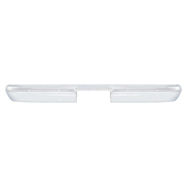 Chrome Rear Bumper Without Impact Strip Holes For 1981-91 Chevy & GMC Truck or SUV