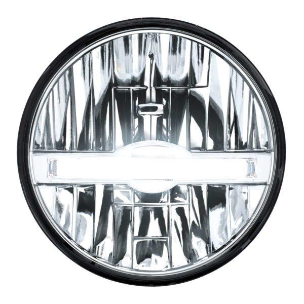 """7"""" High Power LED Headlight With LED Position Light Bar"""