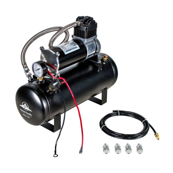 """""""Competition Series"""" Heavy Duty 12V 140 PSI Air Compressor & Tank Kit"""