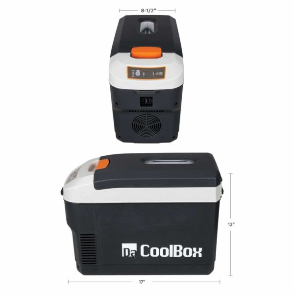 10 Qt AC/DC Powered Thermoelectric Cooler & Warmer