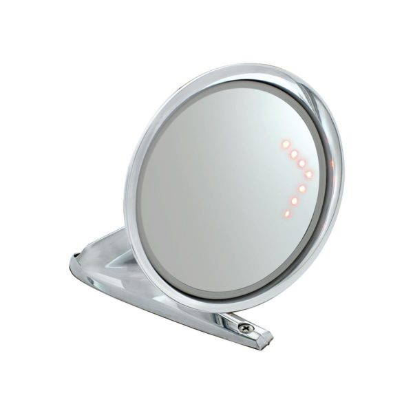 Exterior Mirror w/Convex Glass And LED Turn Signal For 1964.5-66 Ford Mustang