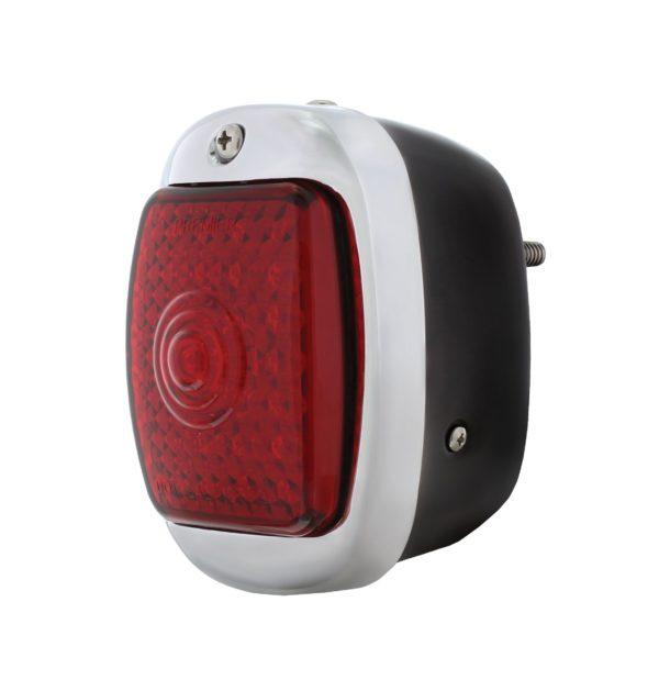 45 LED Tail Light w/Black Housing For 1940-53 Chevy & GMC Truck - R/H